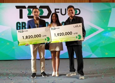 """ขอแสดงยินดีกับผู้ประกอบการหน่วยบ่มเพาะวิสาหกิจได้รับทุนสนับสนุนจากโครงการ TED Fund ในงาน """"TED Fund Grant Day 2019"""""""